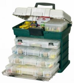 Plano 4 Drawer Lure Organiser Utility Box (PLA758)