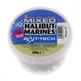 Bait-Tech Halibut Marine Pre Drilled Mixed Pellets