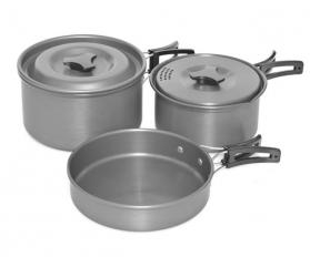 Trakker 3 Piece Cookware Set