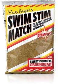 Dynamite Baits Swim Stim Match Sweet Fishmeal Groundbait 2kg