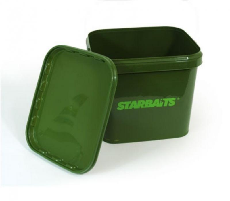 Starbaits Square Bucket amp; Lid  Ted Carter