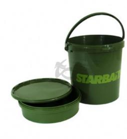 Starbaits Bucket, Bowl & Lid Set Meduim
