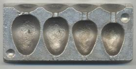 No Frills 4 In 1 Pear Lead Mould