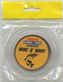 No Frills Wire U Want 30lb Trace Wire