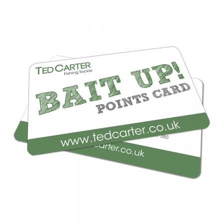 Ted Carter Bait Up Points Card