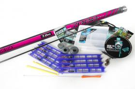 Club Korum Pink Pole Fishing Kit