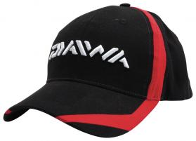 Daiwa Black/Red Cap
