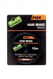 Edges Hair Braid x 10m Brown