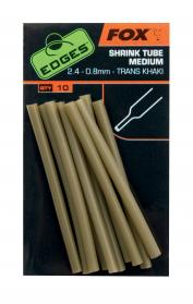 Edges Shrink Tube Medium 2.4-0.8mm Trans Khaki