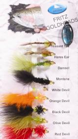 Fritz Goldheads Fly Pack