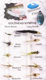 Goldhead Nymphs Fly Pack