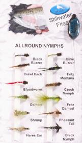 All Round Nymphs Fly Pack