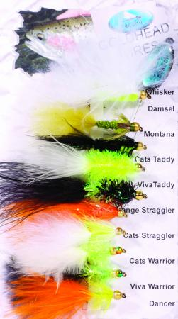Goldhead Lures Fly Pack