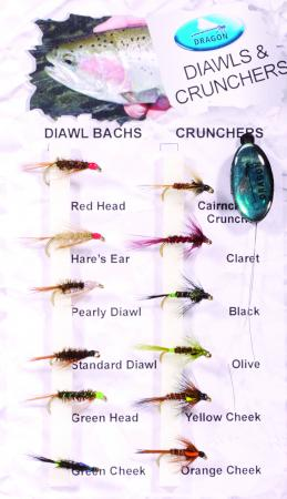 Diawls & Crunchers Fly Pack