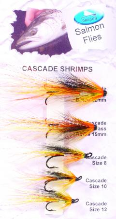 Cascade Shrimps Salmon Fly Pack