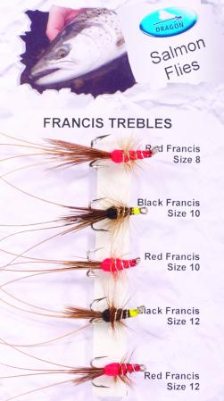 Francis Trebles Salmon Fly Pack