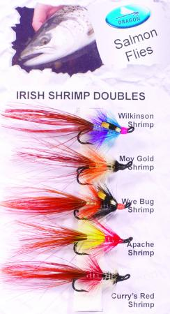 Irish Shrimp Doubles Salmon Fly Pack