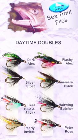 Daytime Doubles Sea Trout Fly Pack