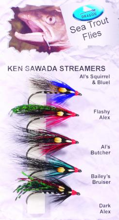 Ken Swada Streamers Sea Trout Fly Pack
