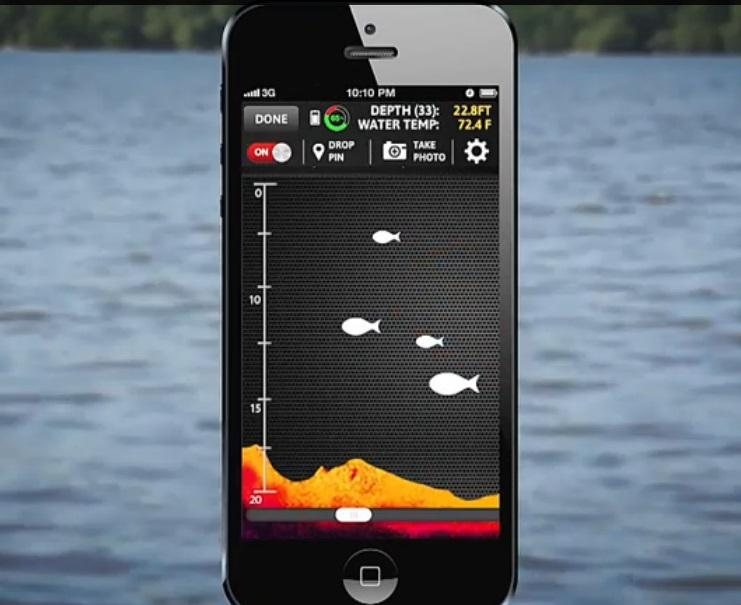 deeper smart fishfinder | ted carter, Fish Finder