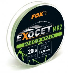 Exocet MK2 marker braid 20lbx300m green