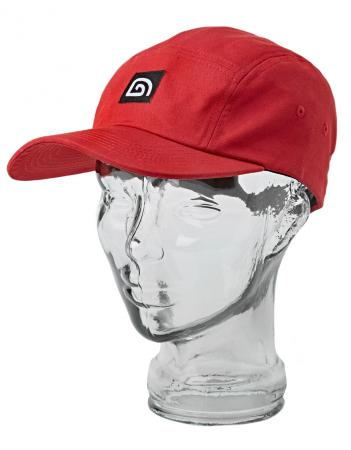 Trakker Five Panel Cap Red