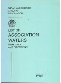 Wigan & District Angling Association Map Book