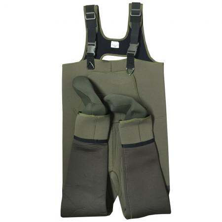 Snowbee XS Neoprene Stocking Foot Chest Wader 7-8