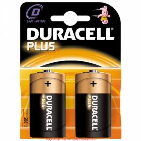 Duracell Plus D Batteries (Pack of 2)