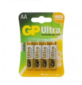 GP AA Batteries 1.5V Alkaline Batteries (Pack of 4)