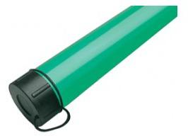 Ted Carter Green Plastic Pole/Rod Tubes