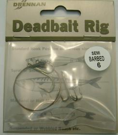 Drennan Deadbait Rigs Semi Barbed