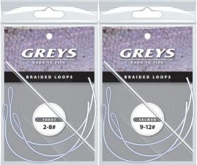 Greys Braided Loops