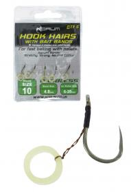 Korum Hook Hairs with Bait Bands