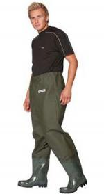 Ocean Deluxe Waist Waders with Studded Soles