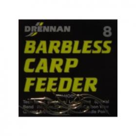 Drennan Barbless Carp Feeder Spade End Hooks