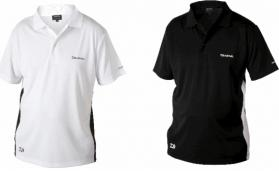 Daiwa Black/White Polo Shirts
