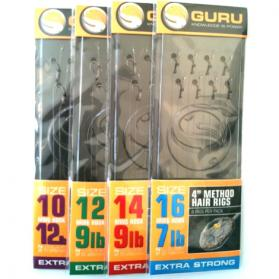 Guru Method Hair Rigs 4inch