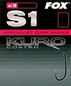 Fox Kuro Coated Hooks S1 Barbed