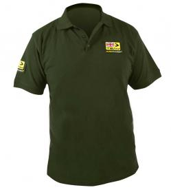 Avid Carp Green Team Polo Shirts