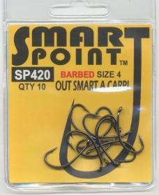 No Frills Smart Point SP420 Barbed Hooks