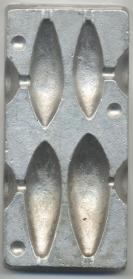 No Frills 4 in 1 Distance Lead Moulds