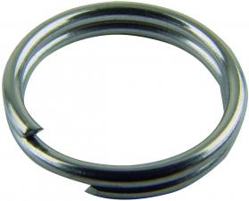 Mustad Nickel Split Rings