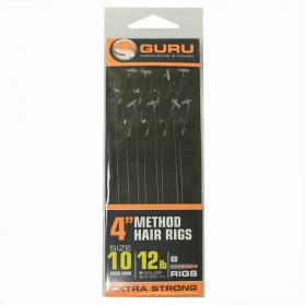 Guru 4in Feeder Hair Rigs (with Speedstops)