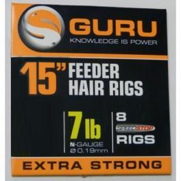 Guru 15in Feeder Hair Rigs (with Speedstops)