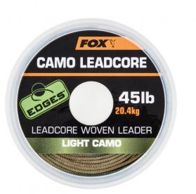 Fox Edges Leadcore Woven Leader Light