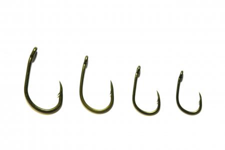 Avid Carp Reaction Wide Gape Barbed Hooks