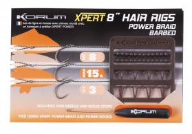 Korum Xpert Barbed Power Braid Hair Rigs