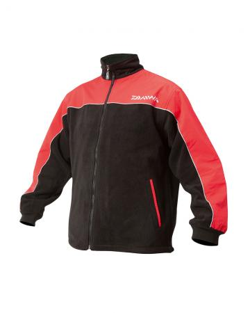 Daiwa Fleece Jackets Black/Red