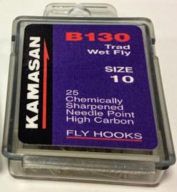 Kamasan B130 Traditional Wet Fly Trout Fly Hooks